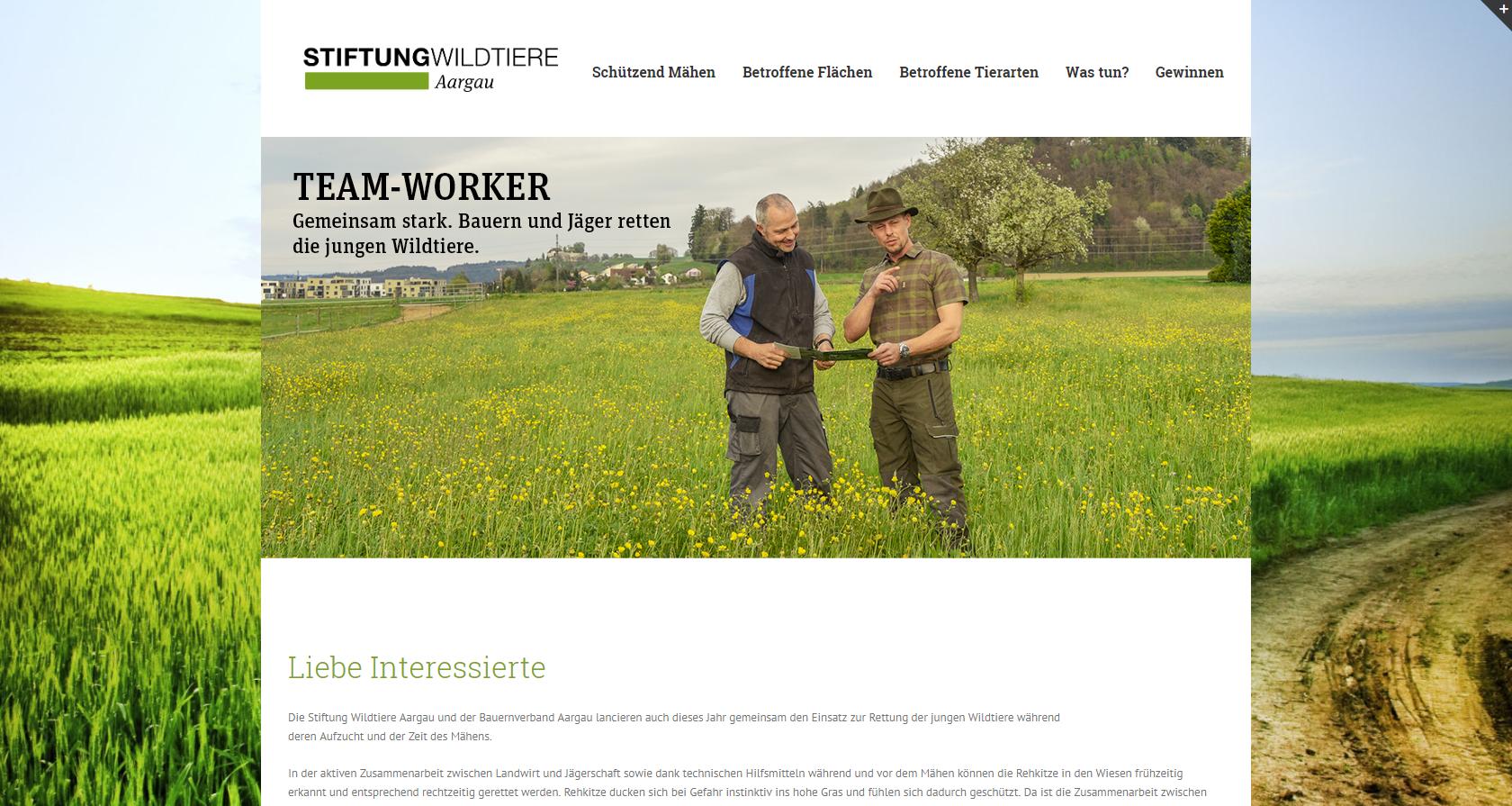 2017 Stiftungwildtiere.ch - Wordpress